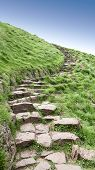 Edinburgh Arthur's Seat stone path