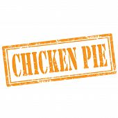 Chicken Pie-stamp
