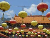 Lampionnen Wong Tai Sin