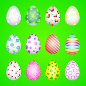 Texture Of Eggs Vector