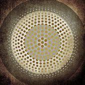 round pattern background