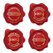 Guarantee wax seal collection