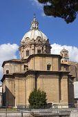 Church Of Santi Luca E Martina In Rome, Italy
