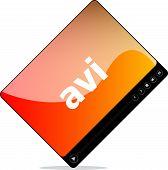 Avi On Media Player Interface