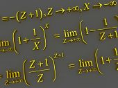 Mathematical formulas. 3d