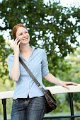 Calling By Phone From A Park