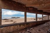 Abandoned Building At The Beach