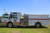 Freeport Patriot Hose company 4 fire truck in Long Island
