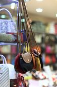 Handbags In The Store