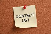 Contact Us! memo