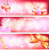 Pink Celebration And Sales Ornament Banner Background, Create By Vector