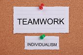 Big Teamwork And Small Individualism