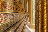 Complex Ornaments In Wat Phra Kaew