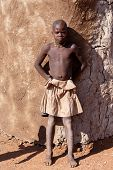 Unidentified Child Himba Tribe In Namibia