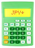 Calculator With Jpy On Display