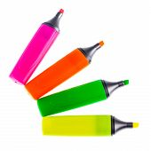Color Highlighters Fan