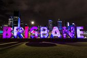 Brisbane sign for G20 Cultural Celebrations