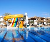 Aquapark At Popular Hotel, Sharm El Sheikh, Egypt