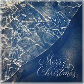 Inspirational Typographic Quote - Merry Christmas