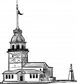 Kız toren van Istanbul