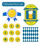 Vectoroktoberfest icons set