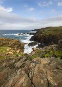 Historical Coastline Of Cornwall