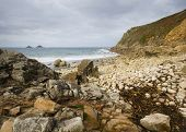 Porth Nanven Cove Cornwall