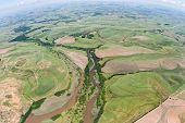 Farmlands River Aerial View