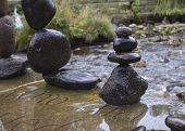 Balanced Stones Stack
