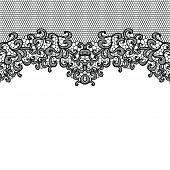 Horizontal seamless background