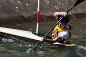 Competitor at Bedford Viking Kayak Club.
