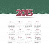 Calendar 2015 year