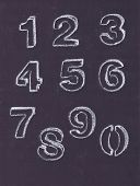 Chalk Numbers