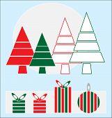 Christmas Holidays Elements