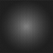 carbon corduroy grid black background. vector