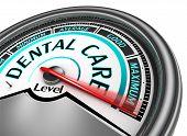 Dental Care Meter Indicate Maximum