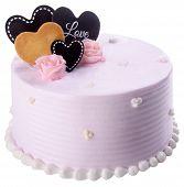 Cake, Ice-cream Cake On Background
