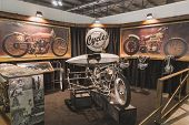 Abnormal Cycles Stand At Eicma 2014 In Milan, Italy