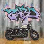 Harley Davidson Motorbike At Eicma 2014 In Milan, Italy