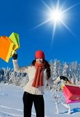 In Winter Clothing Outdoor Season Fashion