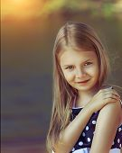 Cute young girl
