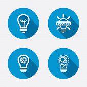pic of gear  - Light lamp icons - JPG
