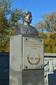 stock photo of guardsmen  - Monument to hero of the Soviet Union S - JPG