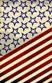 América: Vermelho, branco e azul