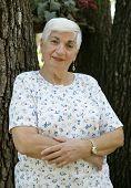 Senior Woman Arms Folded