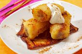 Baked Caramelized Bananas