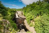 Постер, плакат: High Force Waterfall In Summer