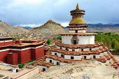 Famous monastery in Tibet (Gyantse)