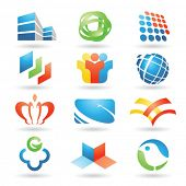Set of vector design elements 6