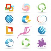 Set of vector design elements 9